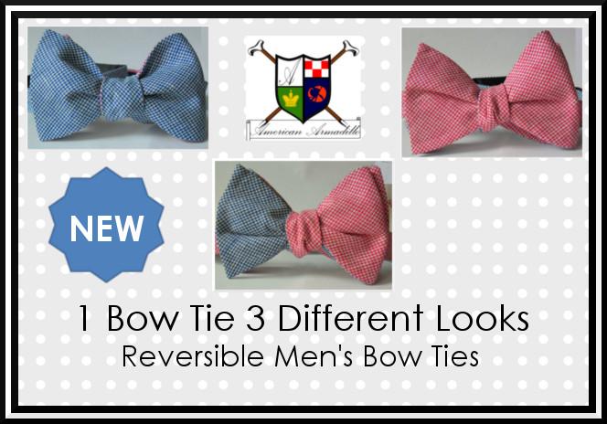 New Reversible Bow Ties